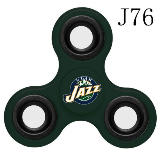 NBA Utah Jazz 3-Way Fidget Spinner J76