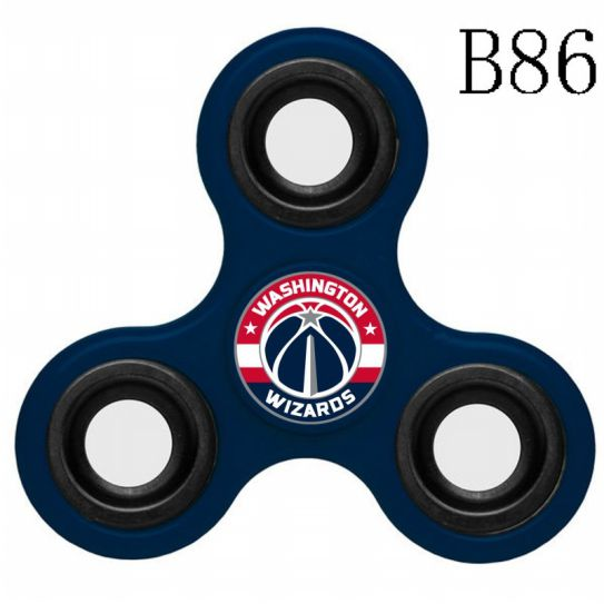 NBA Washington Wizards 3-Way Fidget Spinner B86