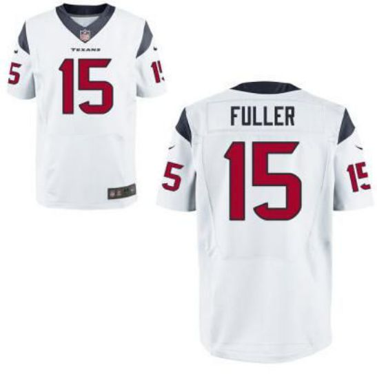 NFL 2017 Men Houston Texans 15 Fuller white elite jersey