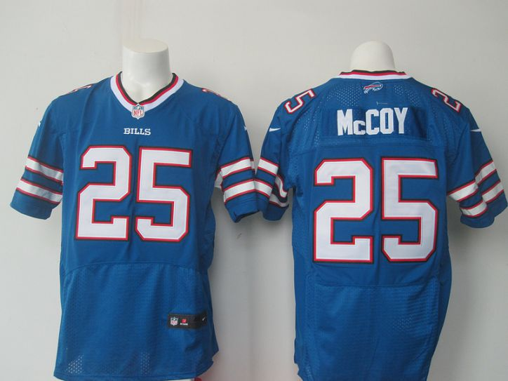 NFL Buffalo Bills 25 McCoy blue Nike Elite jerseys