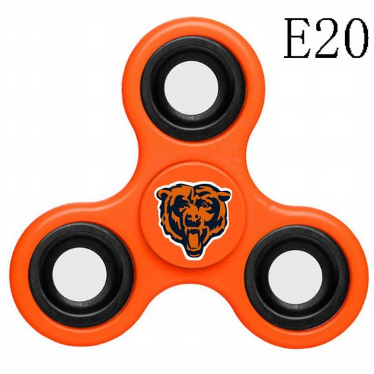 NFL Chicago Bears 3-Way Fidget Spinner E20