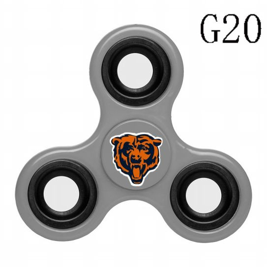 NFL Chicago Bears 3-Way Fidget Spinner G20