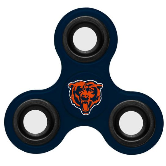 NFL Chicago Bears 3-Way Fidget Spinner