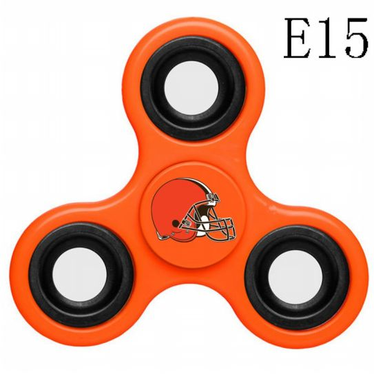 NFL Cleveland Browns 3-Way Fidget Spinner E15