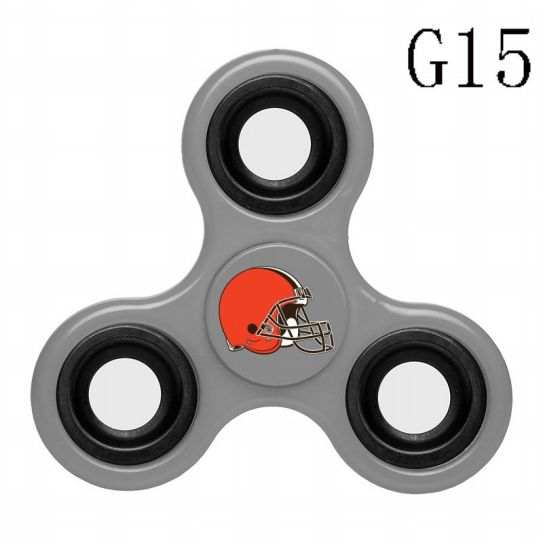 NFL Cleveland Browns 3-Way Fidget Spinner G15