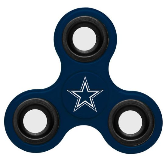 NFL Dallas Cowboys 3-Way Fidget Spinner