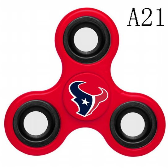 NFL Houston Texans 3-Way Fidget Spinner A21