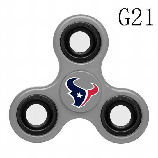 NFL Houston Texans 3-Way Fidget Spinner G21