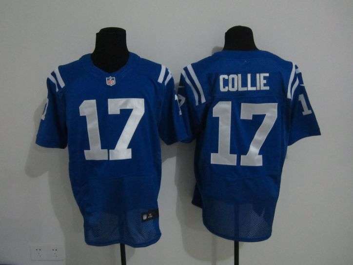 NFL Indianapolis Colts 17 Collie blue Nike elite Jerseys