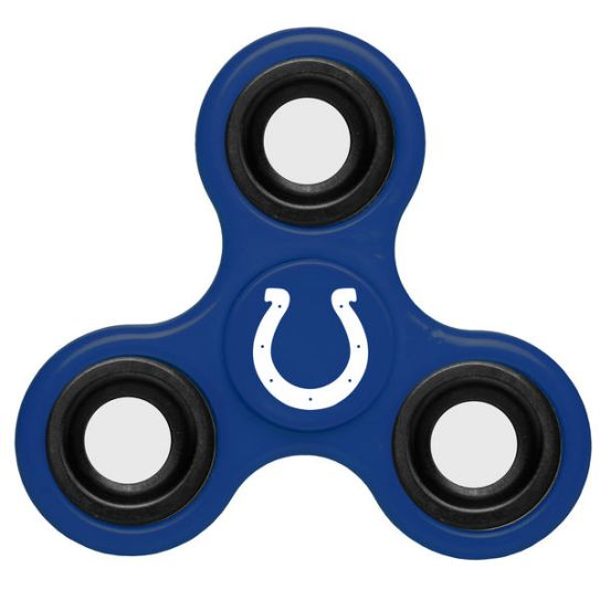 NFL Indianapolis Colts 3-Way Fidget Spinner