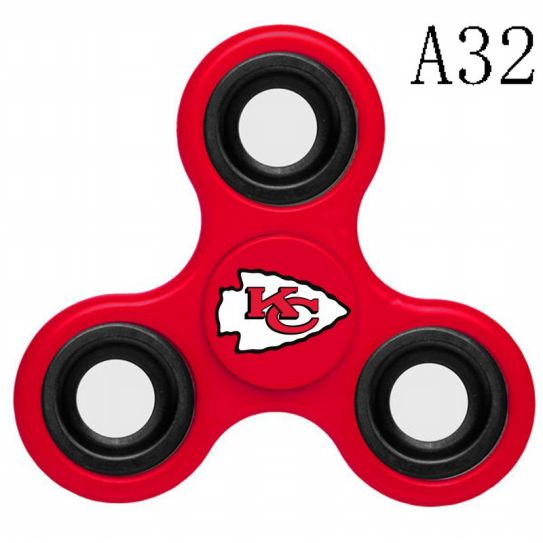 NFL KANSAS CITY CHIEFS 3-Way Fidget Spinner A32