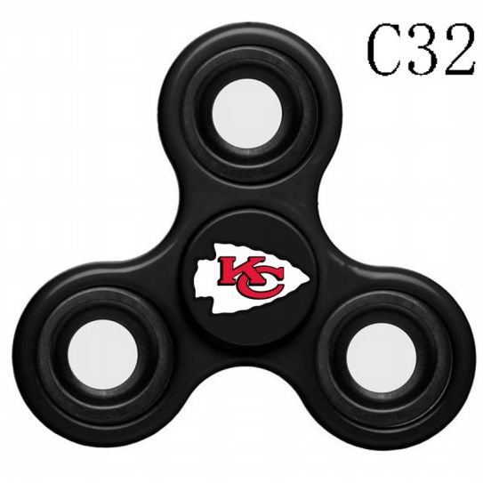 NFL KANSAS CITY CHIEFS 3-Way Fidget Spinner C32