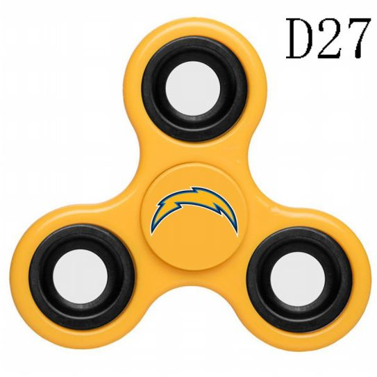 NFL Los Angeles Chargers 3-Way Fidget Spinner D27