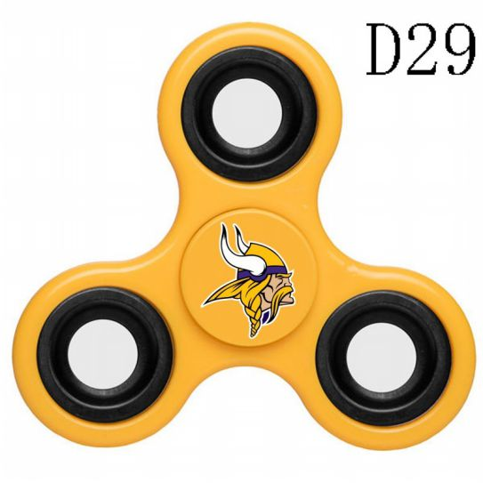 NFL Minnesota Vikings 3-Way Fidget Spinner D29