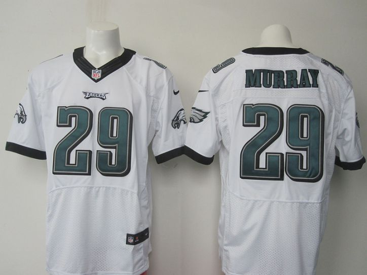 NFL Philadelphia Eagles 29 murray white elite jersey