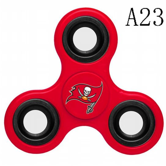 NFL TAMPA BAY BUCCANEERS 3-Way Fidget Spinner A23