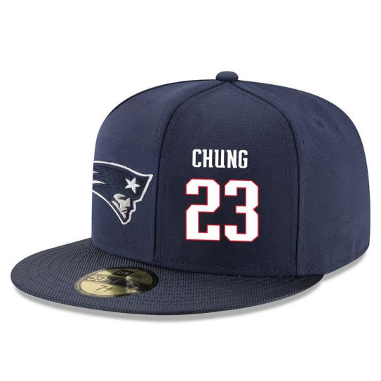 New England Patriots 23 Chung Blue NFL Hat