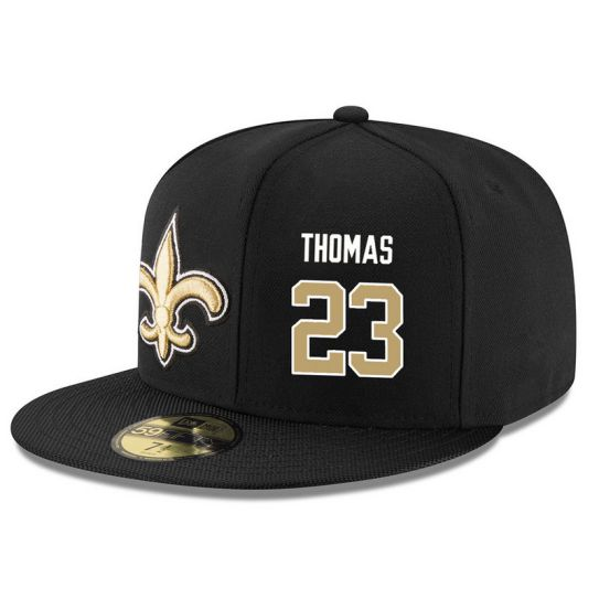 New Orleans Saints 23 Thomas Black NFL Hat