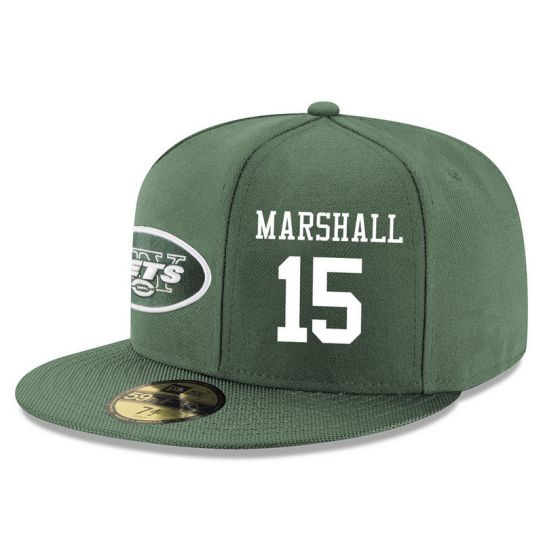 New York Jets 15 Marshall Green NFL Hat