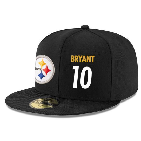 Pittsburgh Steelers 10 Bryant NFL Hat