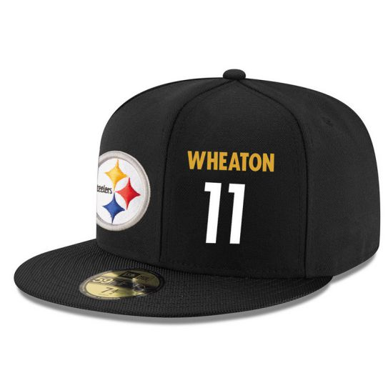 Pittsburgh Steelers 11 Wheaton NFL Hat