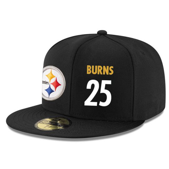 Pittsburgh Steelers 25 Burns NFL Hat