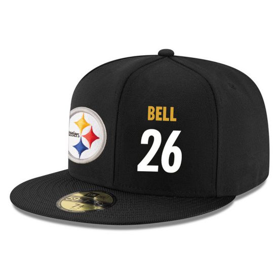 Pittsburgh Steelers 26 Bell NFL Hat