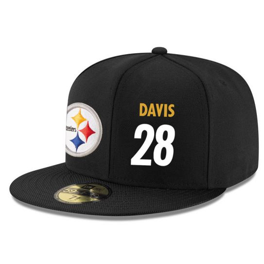 Pittsburgh Steelers 28 Davis NFL Hat
