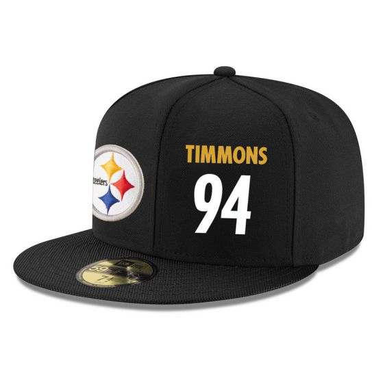 Pittsburgh Steelers 94 Timmons NFL Hat