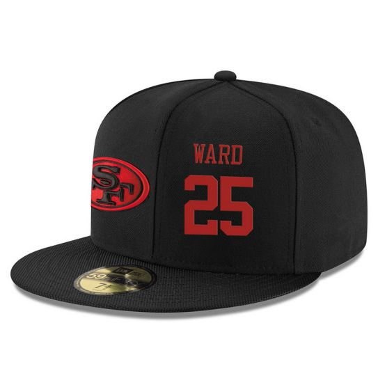 San Francisco 49ers 25 Ward NFL Hat