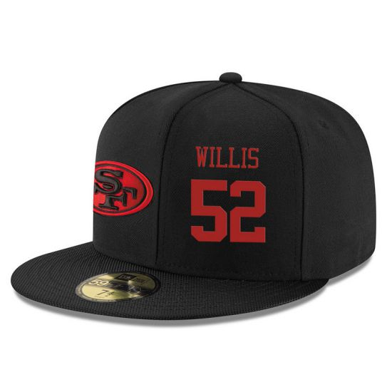 San Francisco 49ers 52 Willis NFL Hat
