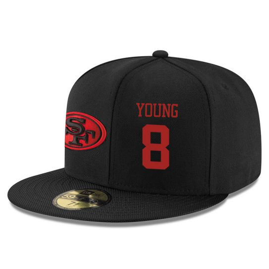 San Francisco 49ers 8 Young NFL Hat