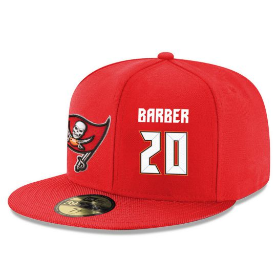 Tampa Bay Buccaneers 20 Barber Red NFL Hat