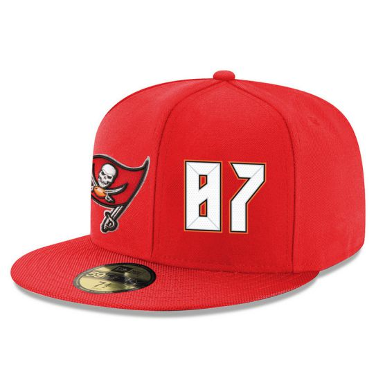 Tampa Bay Buccaneers 87 No Name Red NFL Hat