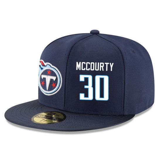 Tennessee Titans 30 Mccourty Blue NFL Hat