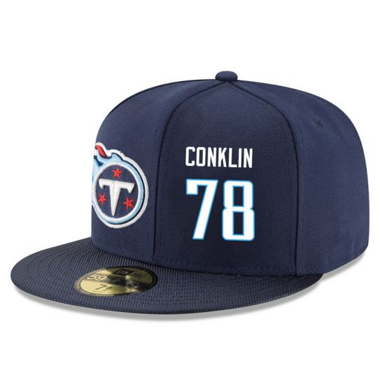 Tennessee Titans 78 Conklin Blue NFL Hat