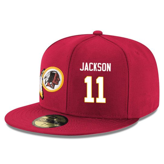 Washington Redskins 11 Jackson Red NFL Hat