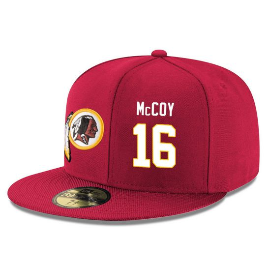 Washington Redskins 16 Mccoy Red NFL Hat