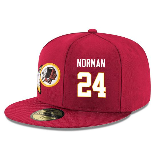 Washington Redskins 24 Norman Red NFL Hat