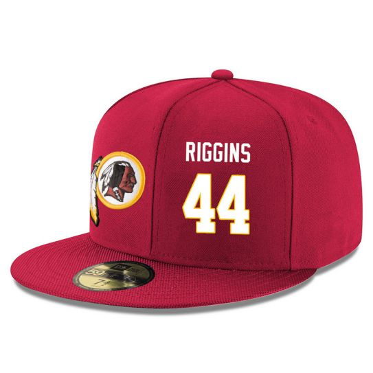 Washington Redskins 44 Riggins Red NFL Hat