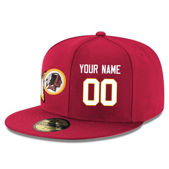 Washington Redskins Custom Red NFL Hat
