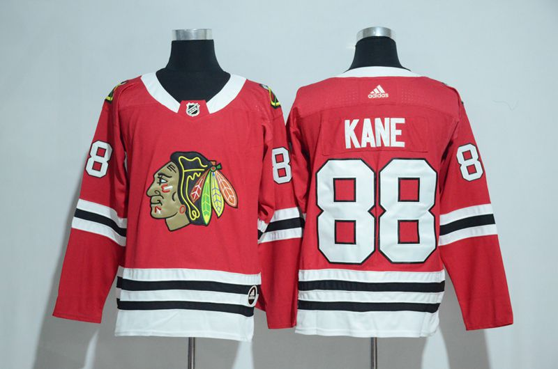 2017 Chicago Blackhawks 88 Kane red Adidas jerseys