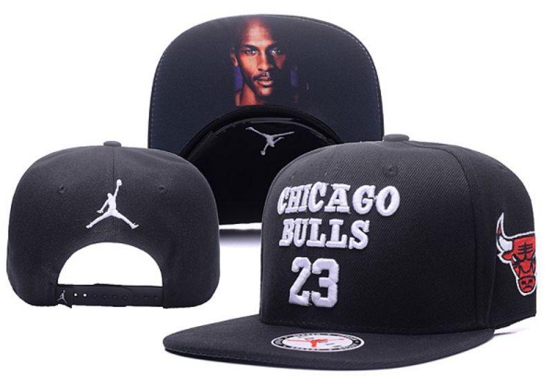 2017 HOT NBA Air Jordan Chicago Bulls 23 Snapback hat