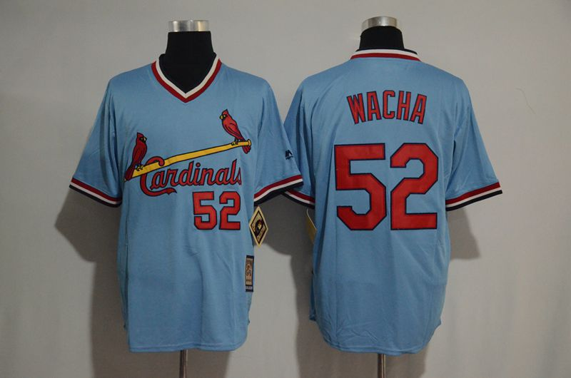 2017 MLB St Louis Cardinals 52 Michael Wacha blue jersey