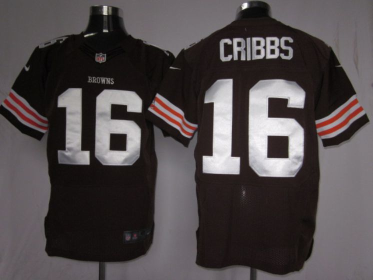 Cleveland Browns 16 Cribbs Brown Nike NFL elite Jerseys