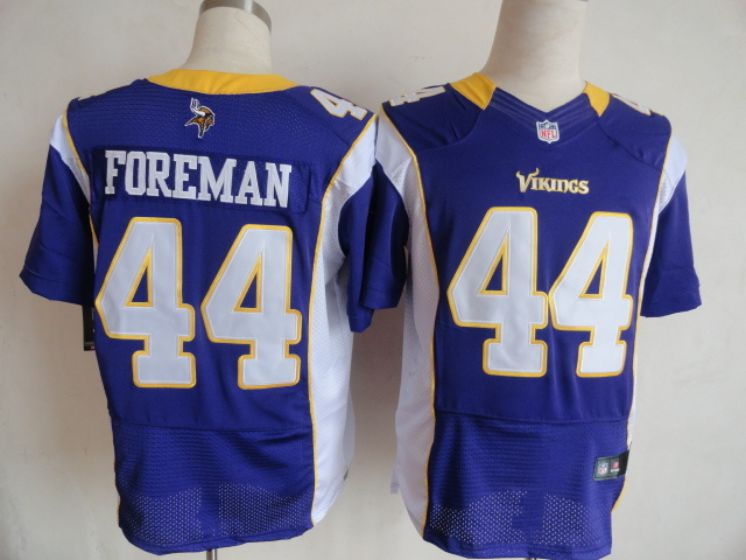 Men Minnesota Vikings 44 Chuck Foreman Purple elite NFL Nike jersey