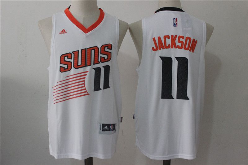 Men Phoenix Suns 11 Josh Jackson White NBA Jerseys
