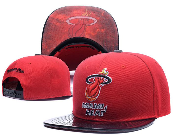 NBA Miami Heat Snapback Hat HEDMY1711