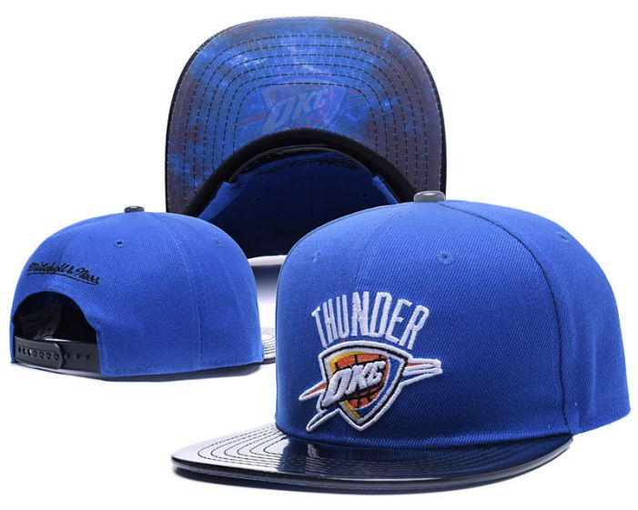 NBA Oklahoma City Thunders Snapback Hat HEDMY1708
