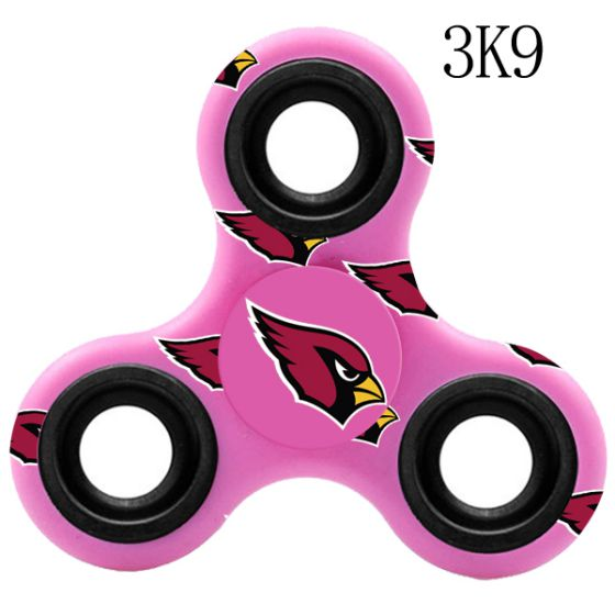 NFL Arizona Cardinals Logo Three-Way Fidget Spinner- 3K9